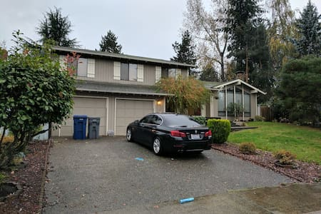 Private Entrance, Quiet Neighborhood. Near Lake. - 伊瑟闊(Issaquah)