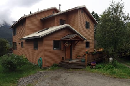 Beautiful Home Overlooking Skagway  - Skagway