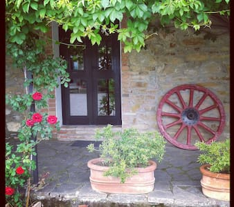 Relax in storico casale toscano - Flat