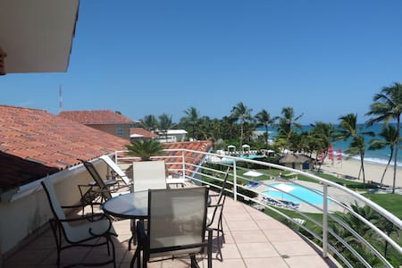 Perfect for sunsets and starry nights lovers ! Located on the seafront, this studio offers an incredible view on the Cabarete bay.