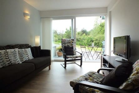 Very comfortable Garden apartment - Tresaith