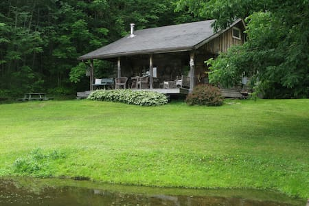 Cozy Cottage on Pond  - Great Valley - Maison
