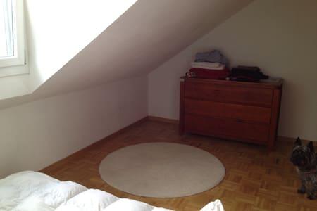 Nice double room close to Geneva - Bellevue