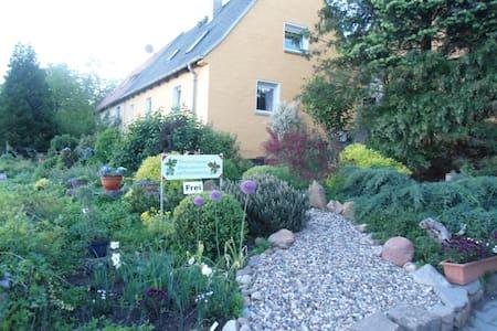 Stilvolle Ferienzimmer in altem Winzerhaus - Nünchritz - Casa