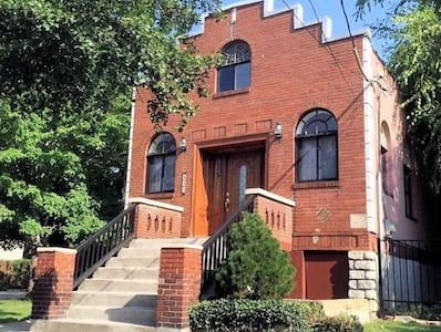 BR for 2 near OTR, Cincinnati OH (blue room) - Rumah