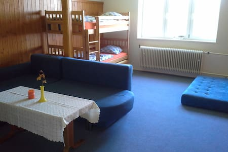 Stará škola na Bystrém -  Janovice - Janovice