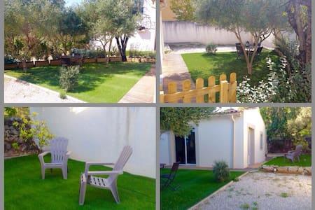Studio lumineux avec jardin - Haus
