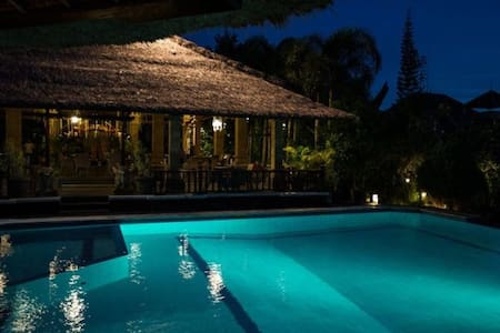 Stay in Balinese Bungalow style
