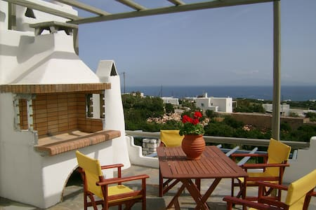 Double room available with sea view - Aspro Chorio - Leilighet