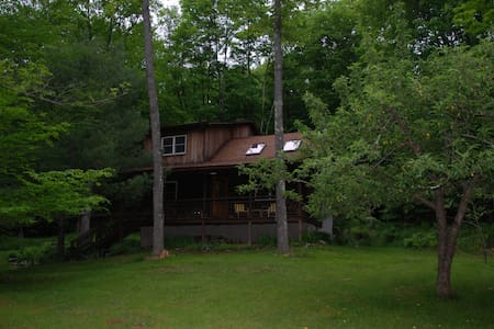 Secluded log cabin in the woods - Haus