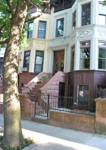 Brownstone 1st floor Apartment.