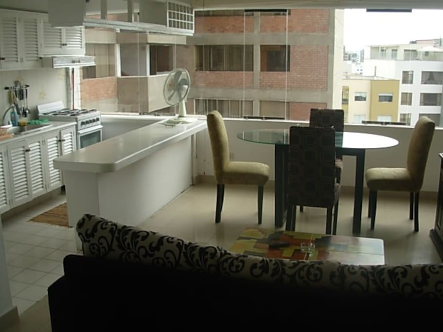 Most of  my apartments in this building have the same configuration with kitchen and living area
