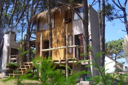 Hermosa cabaña lugar paradisíaco - Haus