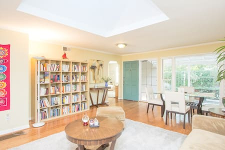 Small cottage in beautiful home - Menlo Park - Casa