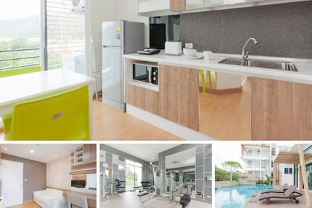 Comfy & Modern One Bedroom Condo - Apartament