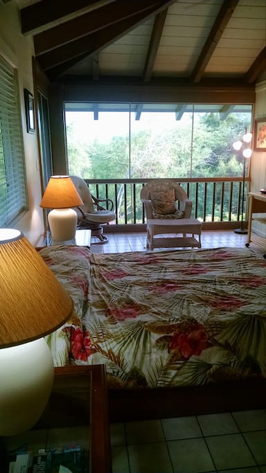 View of room from suite entrance.