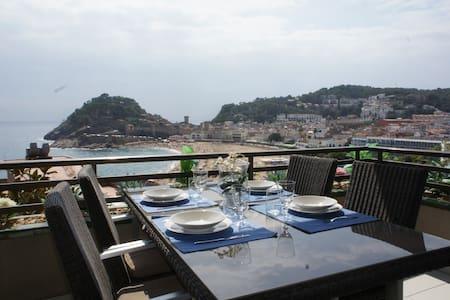Apartment with panoramic sea views  - Tossa de Mar - Apartment