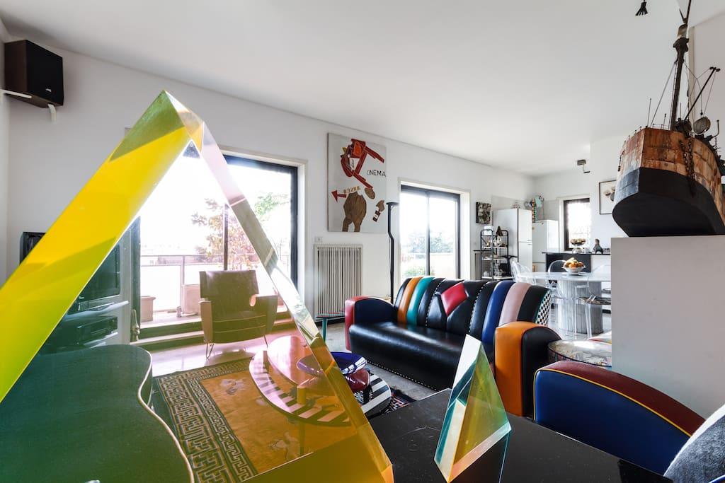 Francesco's  private penthouse
