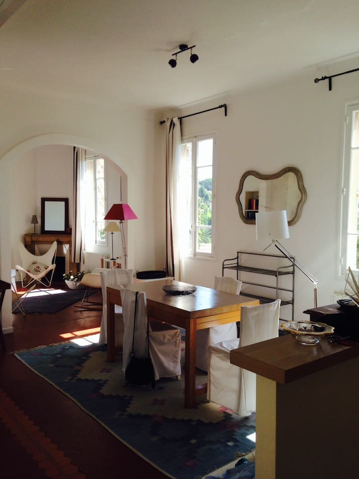 Un double séjour spacieux / A double spacious living room