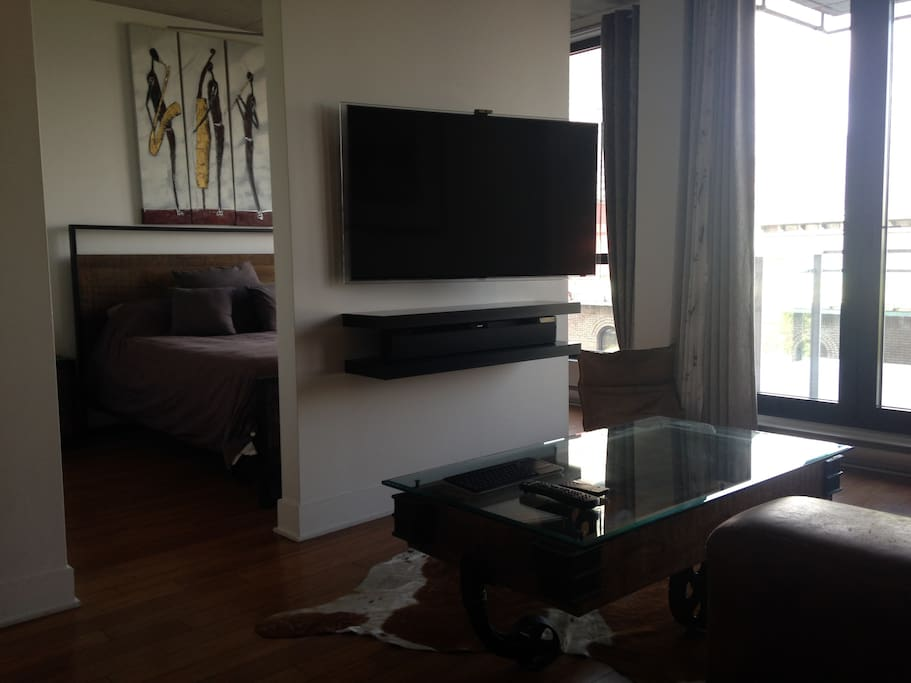 TV + Bose Sound System .. You will love it !!