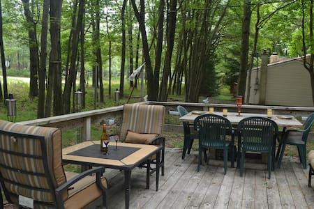 Front Porch Paradise - Pocono Cabin - Cabin
