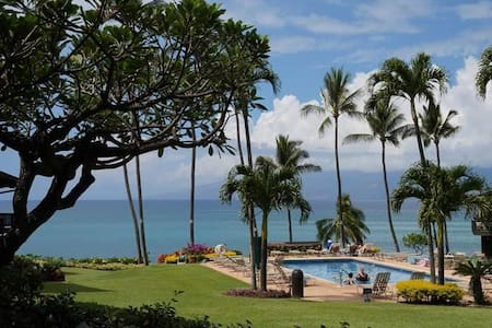 Ocean View - Mahina Surf 117 (One Bedroom One Bath Oceanfront) - Wohnung