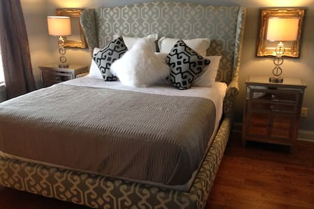 3 blocks to Beale, Suite w/KING bed - Memphis - House