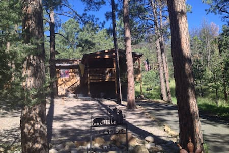 Little Cabin in the Woods!  Escape Big City Life! - Ruidoso - House