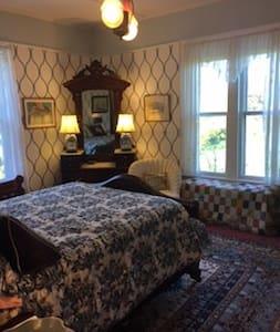 Historic room in Italianate house - Cutchogue