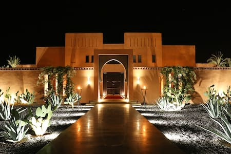 Dar Sofil Suites & SPA, piscine, tennis et cinéma - Villa