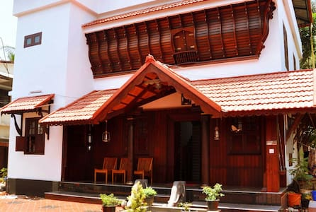 Traditional Kerala Wooden House - House