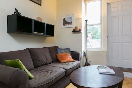 Bright 1BR within a block of Train!