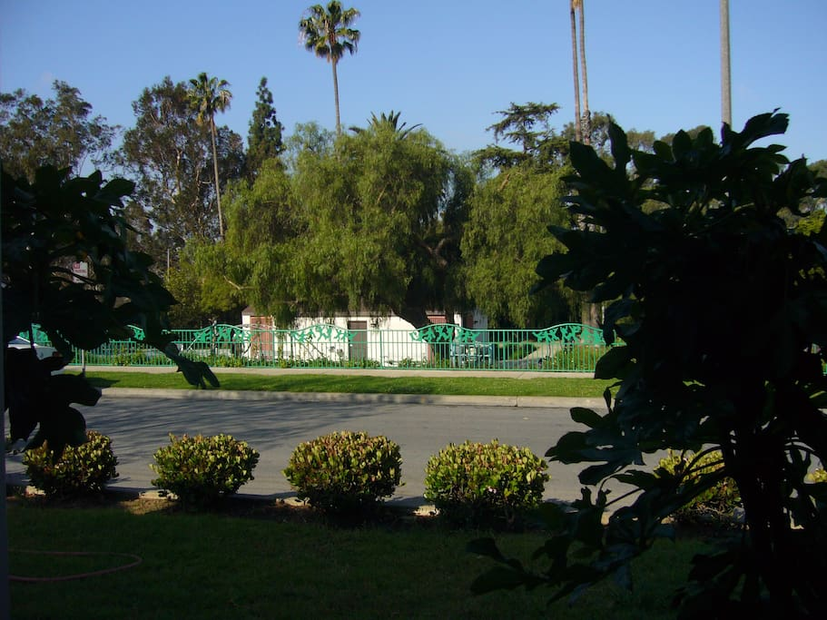 View of LADERA PARK only steps away!! THIS IS WHAT YOU SEE ACROSS THE STREET!