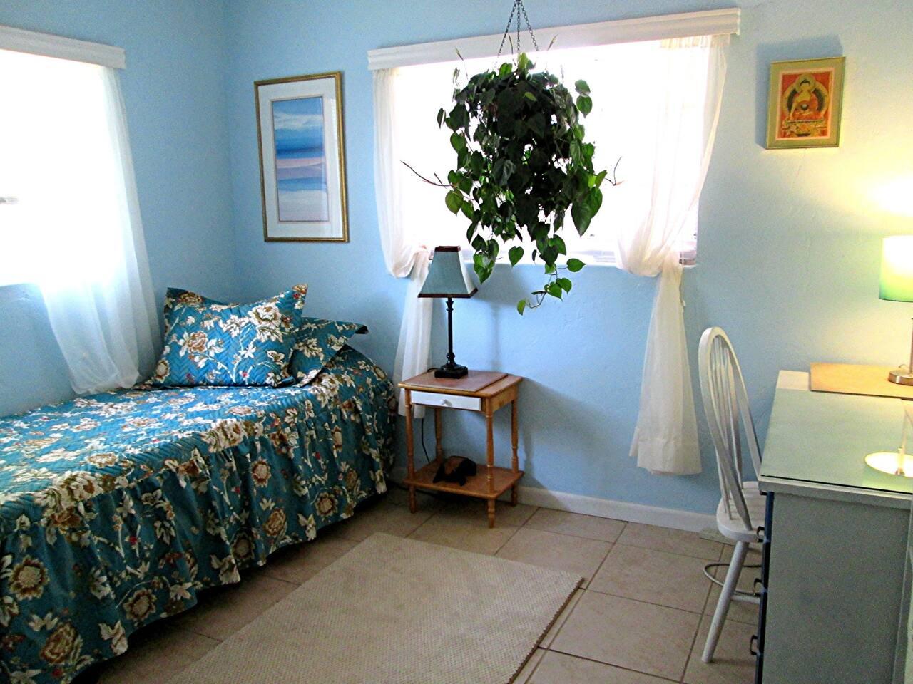 Serene room in artist's home