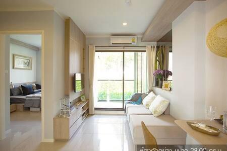 Seaview30sqm,TV, Microwave,refrigerator,Car park.. - Tambon Cha-am - Kondominium