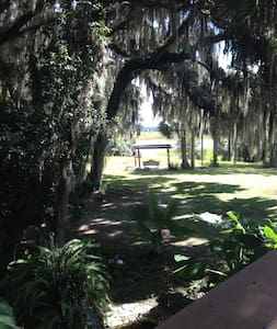 Gorgeous Private Country Estate on 15 acres. - Micanopy - Casa