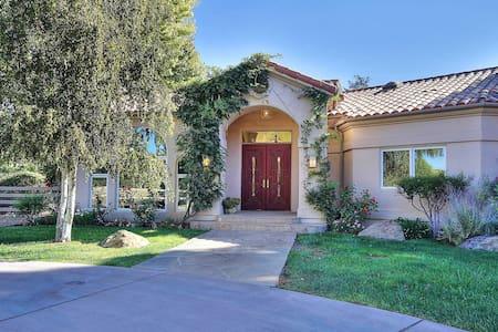 4BR/2.5BA Los Olivos Ranch House - Los Olivos - House