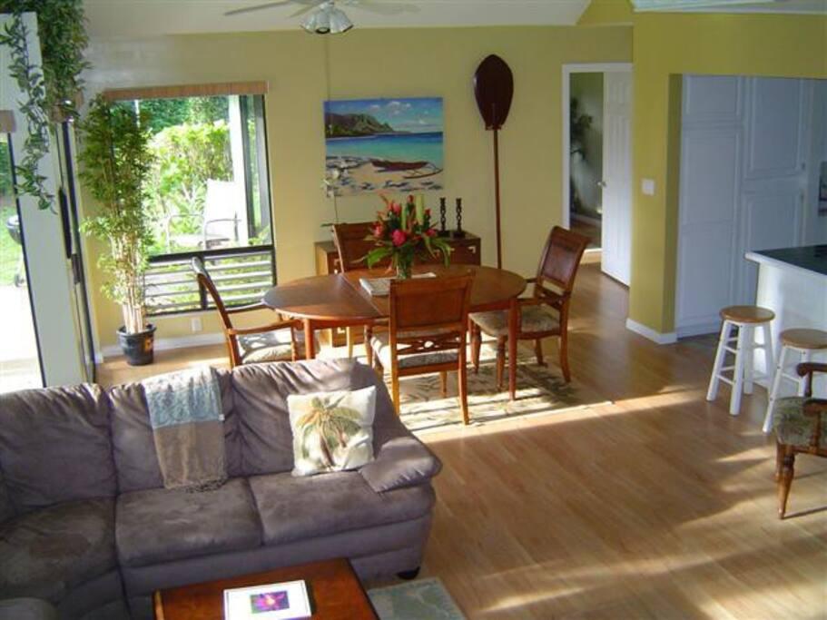 Open living kauai Vacation Rent
