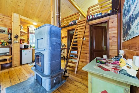 Great and cosy House in the forest - Solnechnogorskiy - Huis