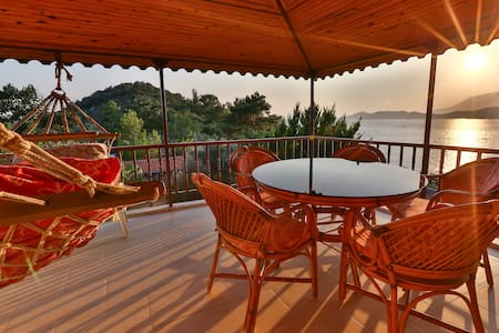 Best sea and sunset view in Kas 4px - Loft