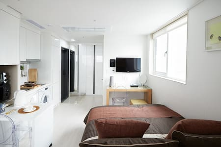 Jongno, The Place /Double&Bunk bed