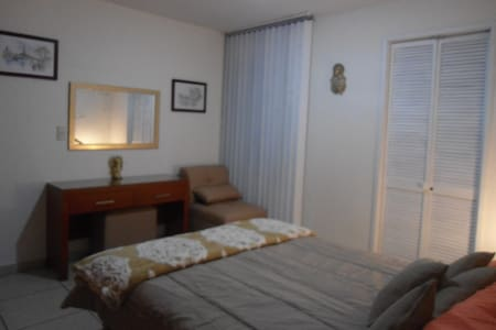 Comfortable room, double bed - Guadalajara - Hus
