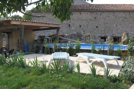 L'Oustal del vailets, piscine,Albi - Valderiès