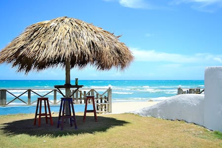 Beautiful place with wide beach access and Goddess Beach Club with many activities and special prices for hotel guests right across next to the hotel. Airconditioning, Cable TV, With kitchenette, price is 58.- USD per night. please ask for rates!