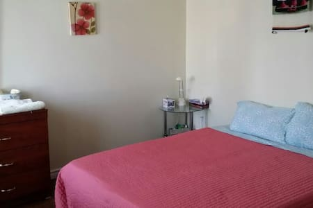 """Good location; close to ttc ang go stacion, buses 24 hours, bank an shops is walking distance, the room is clean, in a quit home, """"feel like home"""",backyard available, free wifi."""