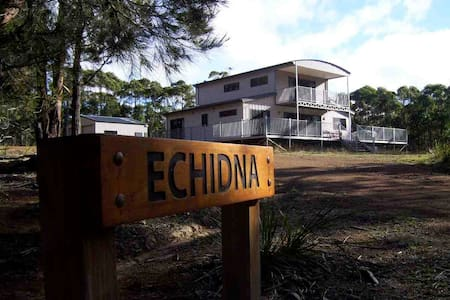 'Echidna' on Bruny Island - House