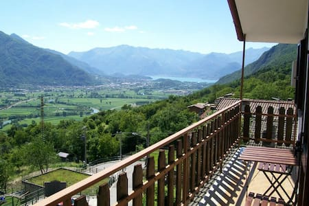 Panoramic apartment in Valtellina - Appartement