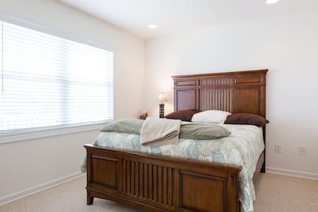 Bed&Breakfast 3 blcks, Private room & Private bath - Carolina Beach - 獨棟
