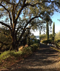 Hilltop Oasis–Oak Knoll Bungalow - Geyserville