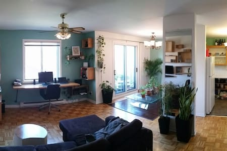 Sunny and calm apt in HoMa district - Montréal - Wohnung